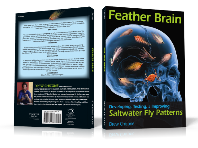 Feather Brain TransBoxshot FB1 Recapping Redfish Flies by Drew Chicone