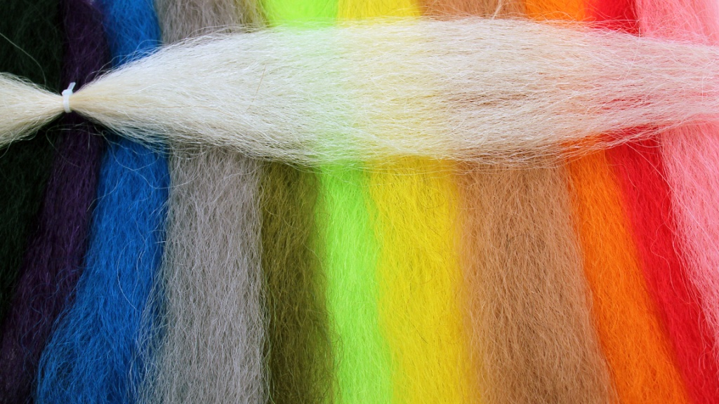 Saltwater Yak Hair for fly tying