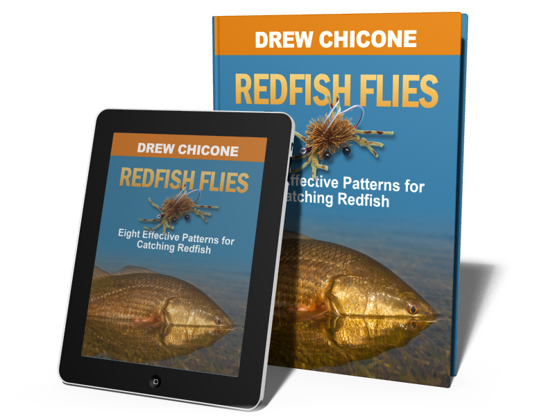 Redfish Flies eBook Boxshot Recapping Redfish Flies by Drew Chicone